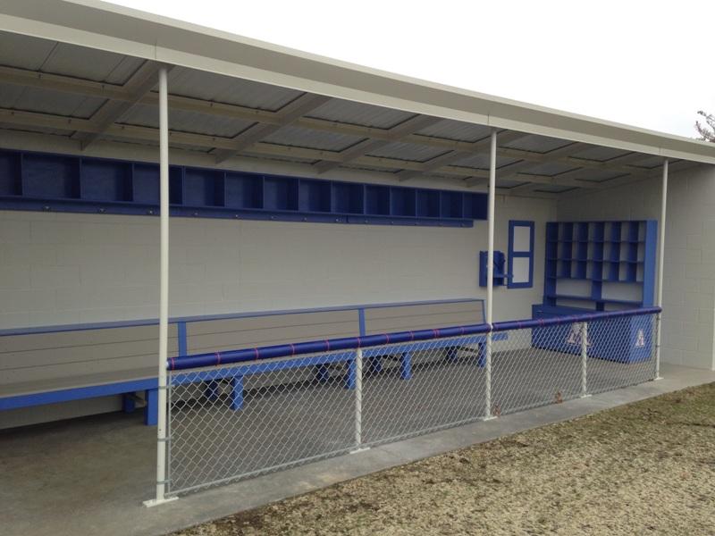 Apollo High School Baseball Dugouts Dale Gruber Construction