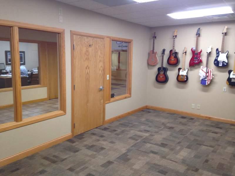 Liberty Bank Office Guitars